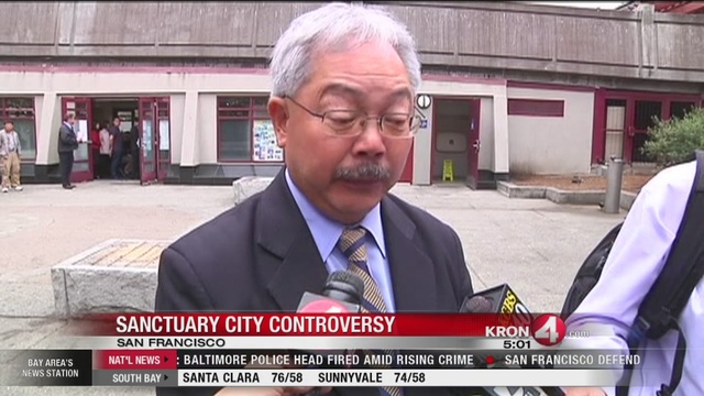 Pier 14 Shooting: Mayor Ed Lee sends letter to sheriff asking department to change sanctuary city policy