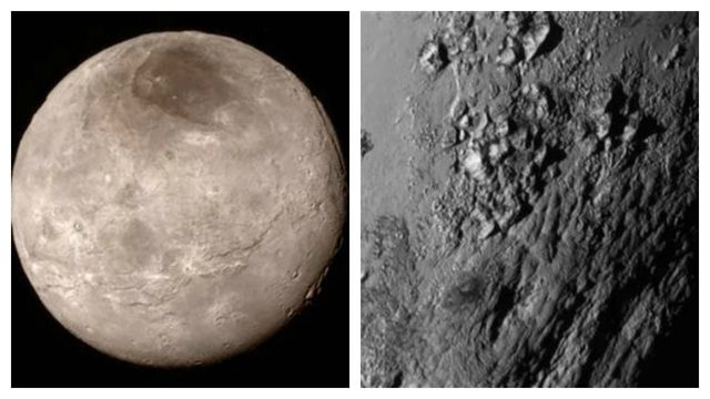 'Blowing my mind': Peaks on Pluto, canyons on Charon