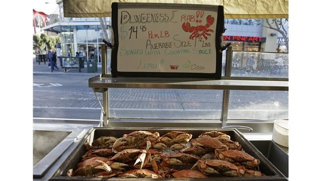 Dungeness crab health warning lifted for more of California