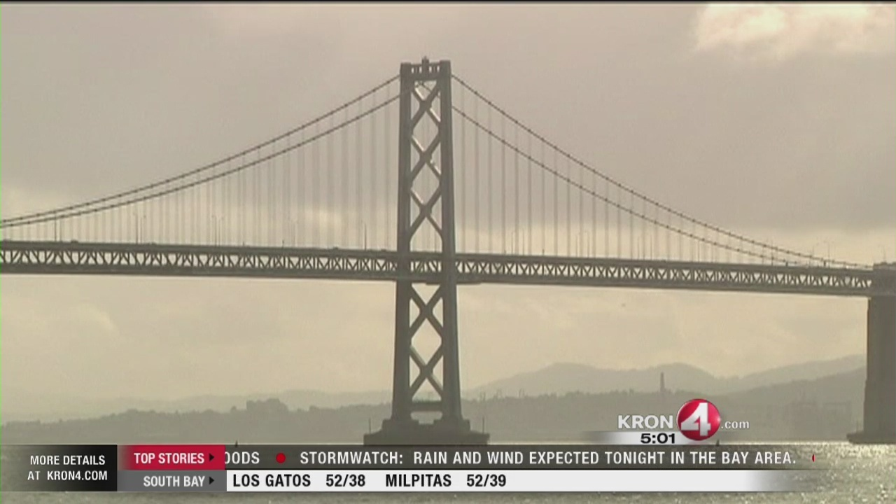 Video: Rain, snow blanket Bay Area on Christmas Eve
