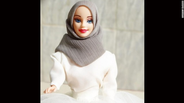 The hijab-wearing Barbie who's become an Instagram star