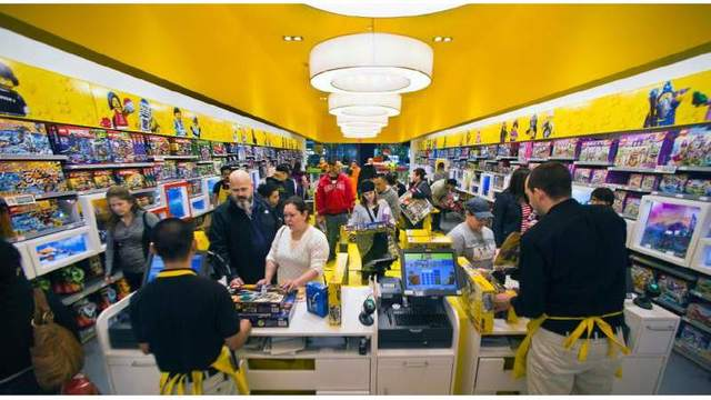 San Francisco opening first Lego store - KRON