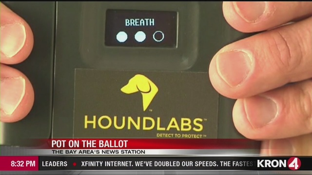 VIDEO: Oakland company testing new technology that could help police gauge if a driver is high on marijuana