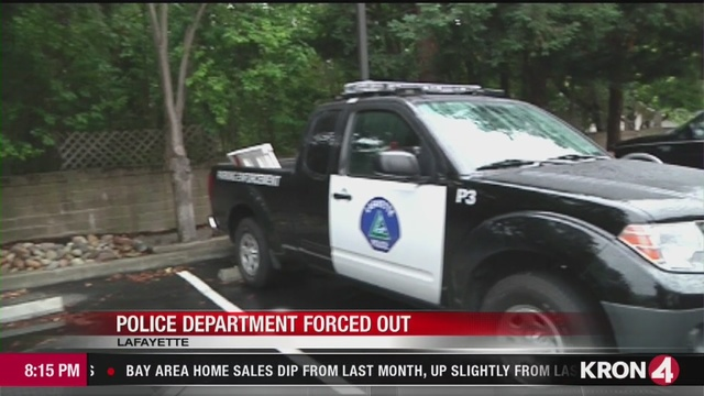 Lafayette Police Department is facing eviction