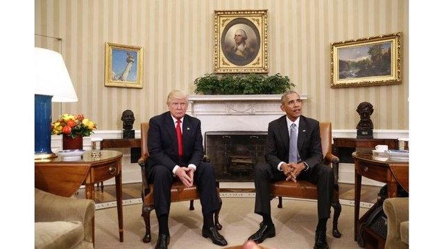 VIDEO: Donald Trump meets with President Obama at the White House