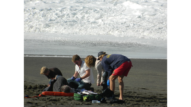 2 children and adult rescued at Sonoma County beach