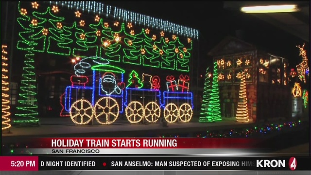 VIDEO: Caltrain's Holiday Train rolls out this weekend