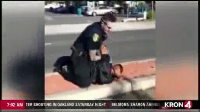 Caught on camera: Vallejo police beat man suspected of acting erratically