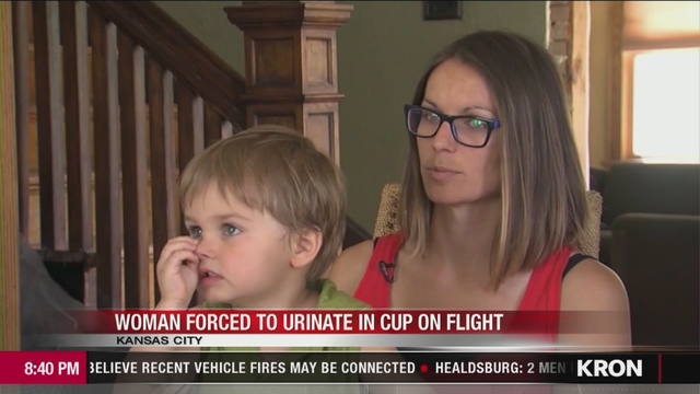 VIDEO: United denies telling Kansas City woman to urinate in a cup
