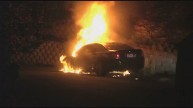 VIDEO: Serial arsonist believed responsible for seven East Bay car fires