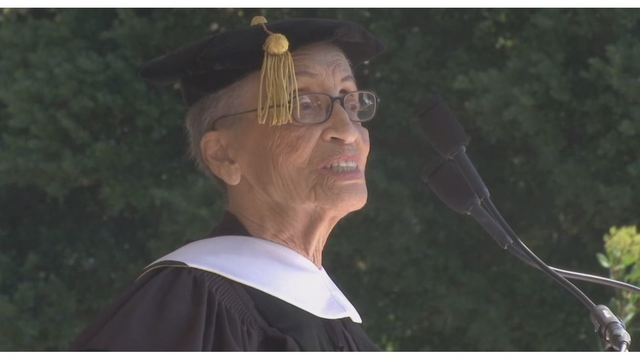 Nation's oldest park ranger receives honorary doctorate from Mills College