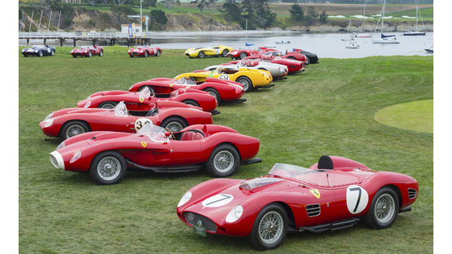 Summer in Monterey: The Need for Speed
