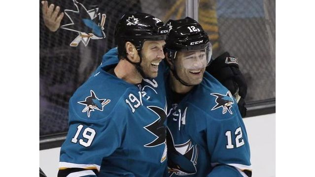 Report: Sharks' Marleau, Thornton offered extensions; set to become free agents