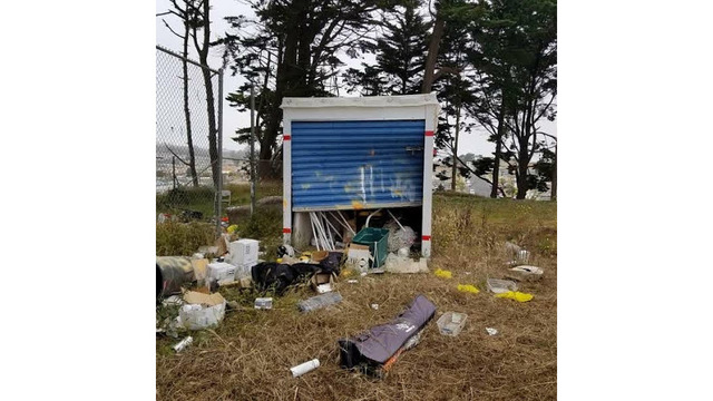 PHOTOS: Robbers Vandalize, Steal From Daly City Youth Soccer Organizationu0027s  Storage Unit