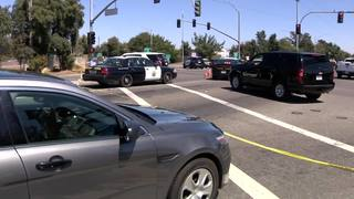VIDEO: Sheriff's deputy killed, 2 CHP officers shot at motel in