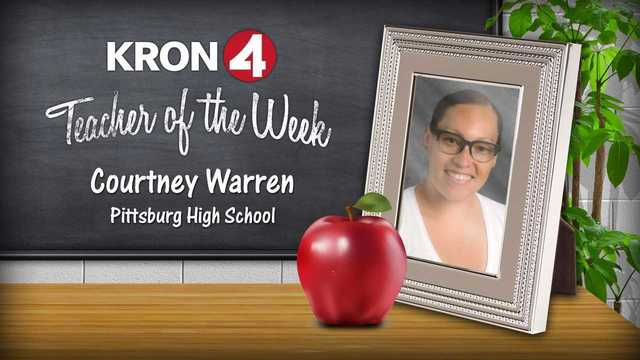 KRON 4's Teacher of the Week: Courtney Warren