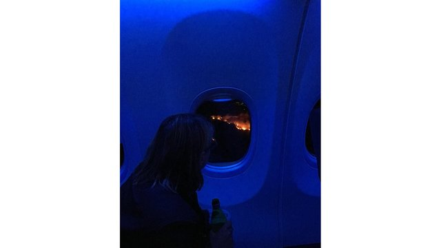 fire from plane_646528