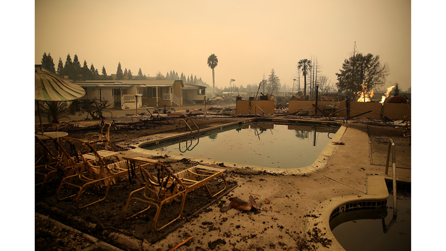 Multiple Wildfires Destroy Homes, Threaten California Wine Country_648248