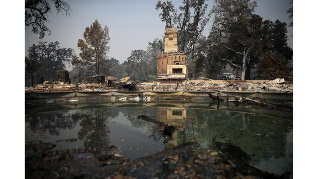 Multiple Wildfires Destroy Homes, Threaten California Wine Country_648232