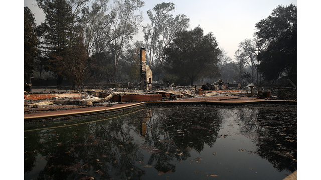 Multiple Wildfires Destroy Homes, Threaten California Wine Country_648231