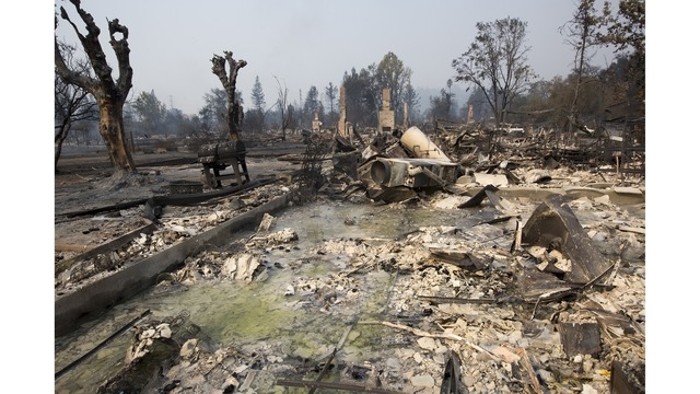 At Least 11 Dead As Multiple Wildfires Burn Through California Wine Country_648233