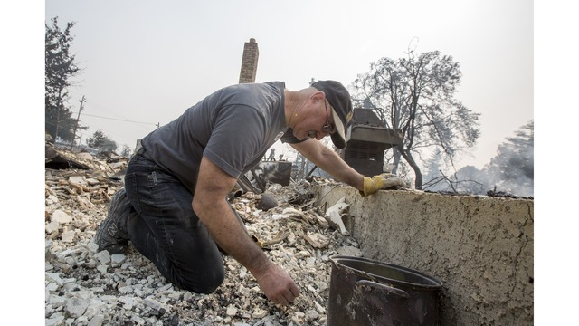 At Least 11 Dead As Multiple Wildfires Burn Through California Wine Country_648235