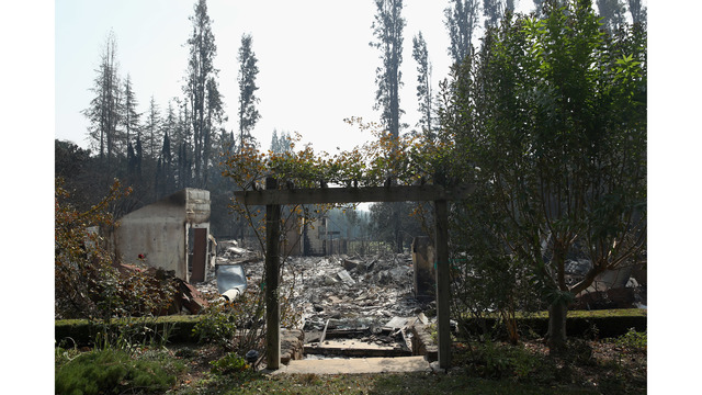 At Least 11 Dead As Multiple Wildfires Burn Through California Wine Country_648238