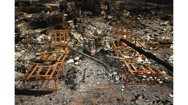At Least 11 Dead As Multiple Wildfires Burn Through California Wine Country_648244