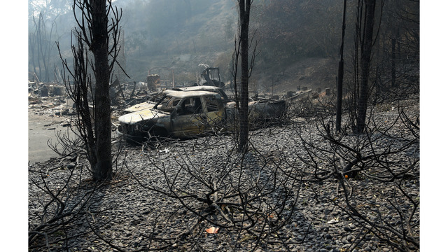 At Least 11 Dead As Multiple Wildfires Burn Through California Wine Country_648241
