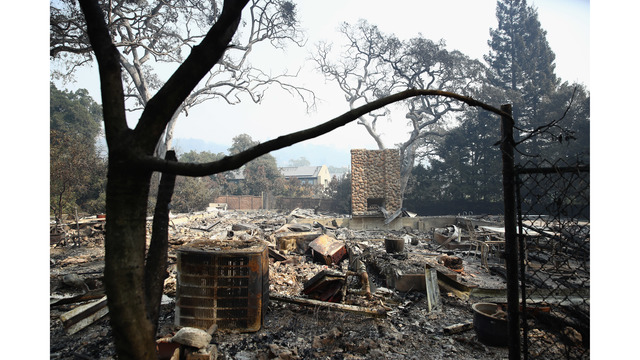 At Least 11 Dead As Multiple Wildfires Burn Through California Wine Country_648240