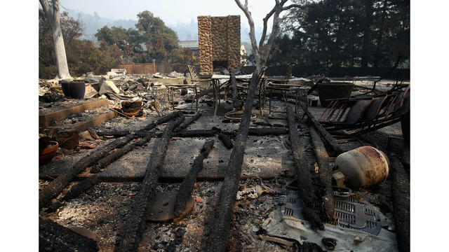 At Least 11 Dead As Multiple Wildfires Burn Through California Wine Country_648239