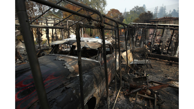 At Least 11 Dead As Multiple Wildfires Burn Through California Wine Country_648242