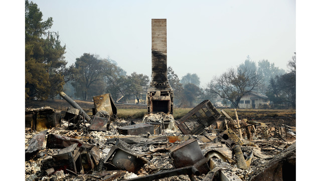 At Least 11 Dead As Multiple Wildfires Burn Through California Wine Country_648234