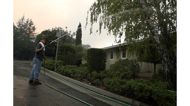 Multiple Wildfires Destroy Homes, Threaten California Wine Country_648224