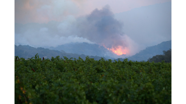 At Least 11 Dead As Multiple Wildfires Burn Through California Wine Country_648225
