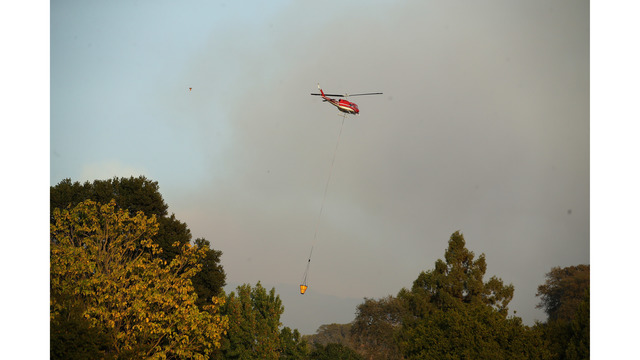 At Least 11 Dead As Multiple Wildfires Burn Through California Wine Country_648229