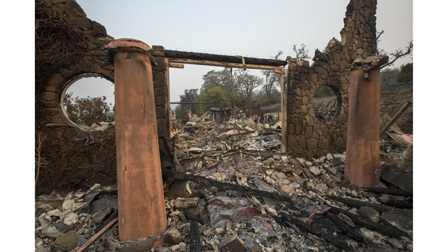 Multiple Wildfires Continue To Ravage Through California Wine Country_648222