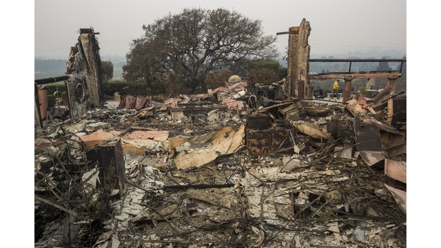 Multiple Wildfires Continue To Ravage Through California Wine Country_648220