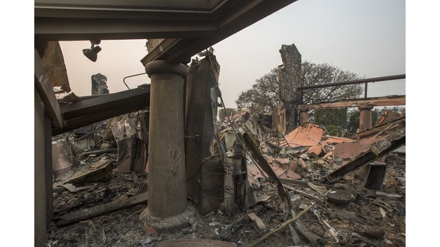 Multiple Wildfires Continue To Ravage Through California Wine Country_648223