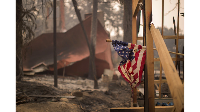 Multiple Wildfires Continue To Ravage Through California Wine Country_648467