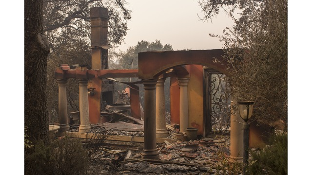 Multiple Wildfires Continue To Ravage Through California Wine Country_648466