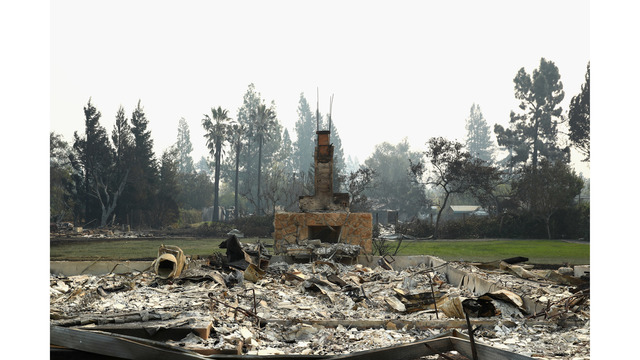 Multiple Wildfires Continue To Ravage Through California Wine Country_648448
