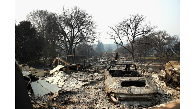 Multiple Wildfires Continue To Ravage Through California Wine Country_648455