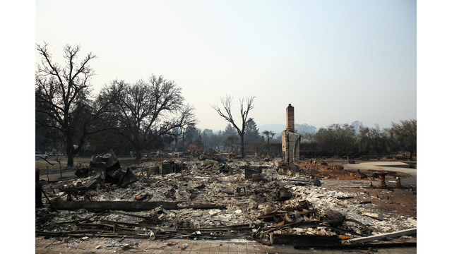 Multiple Wildfires Continue To Ravage Through California Wine Country_648461