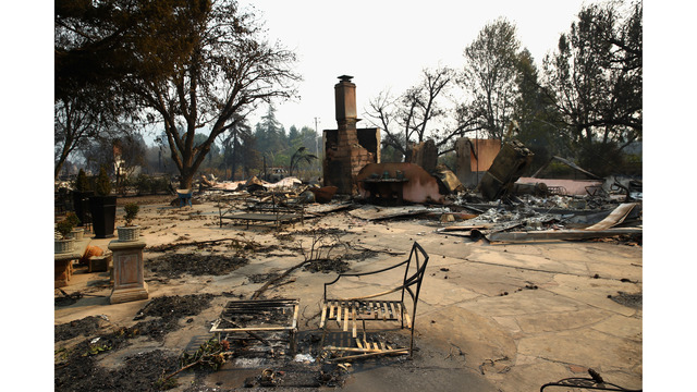 Multiple Wildfires Continue To Ravage Through California Wine Country_648456