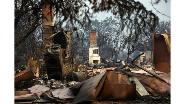 Multiple Wildfires Continue To Ravage Through California Wine Country_648446