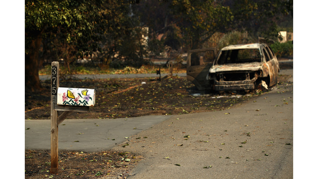 Multiple Wildfires Continue To Ravage Through California Wine Country_648450