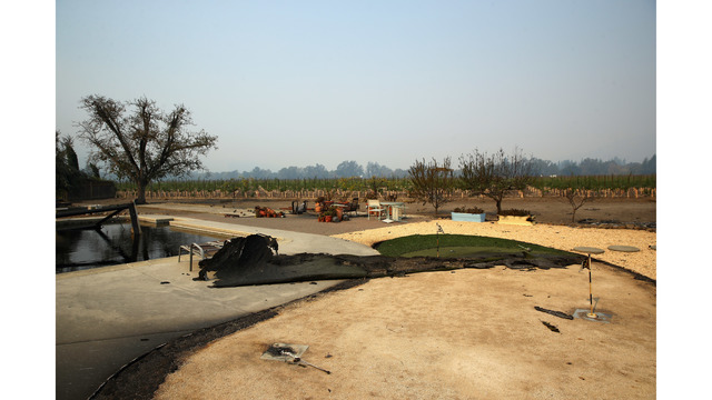 Multiple Wildfires Continue To Ravage Through California Wine Country_648460