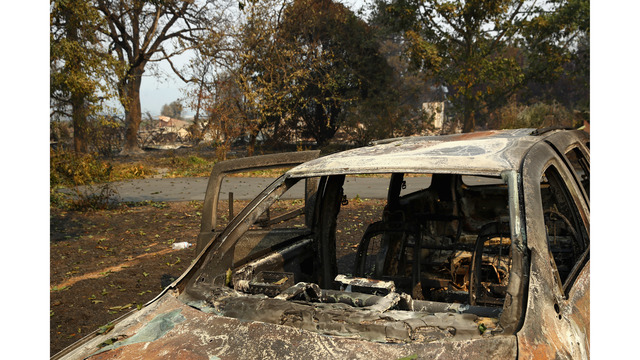 Multiple Wildfires Continue To Ravage Through California Wine Country_648454