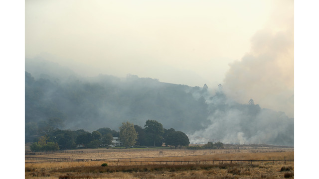 Multiple Wildfires Continue To Ravage Through California Wine Country_648470